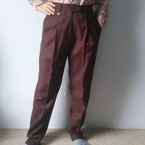 vintage De Pinna wool pants